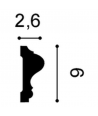 Listwa ścienna P8020