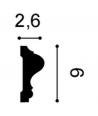 Listwa ścienna P8020F Flex